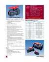Type 21/21a - 2-way Thermoplastic Ball Valves (1/2 to 6) – Data Sheet