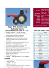 Type 57IL Isolator Lug Thermoplastic Butterfly Valves - Datasheet