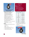 Type 57L Lug Guard Thermoplastic Butterfly Valves - Datasheet