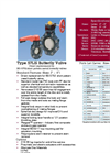 Type 57LIS Thermoplastic Butterfly Valves – Datasheet