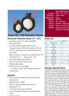 D-SERIES High Pressure Thermoplastic Butterfly Valves – Datasheet