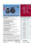 Type SP Pool-Pro Thermoplastic Butterfly Valves