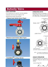 Butterfly Valve Options - Manual