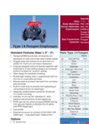 Type 14 Flanged Thermoplastic Diaphragm Valves - Datasheet