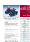 Type 14 True Union Thermoplastic Diaphragm Valves - Datasheet