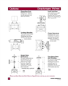 Diaphragm Valve Options – Datasheet