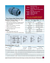 Thermoplastic Ball Check Valves-Single Union - Datasheet