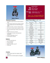 Type P Thermoplastic Gate Valves - Datasheet