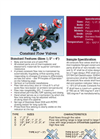 Thermoplastic Constant Flow Valves - Datasheet