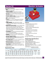 Series 92 Electric Actuators - Datasheet