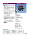 Series 94 Electric Actuators - Datasheet