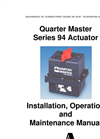 Series 94 Electric Actuators – Manual