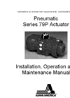 Series 79 Pneumatic Actuators – Manual