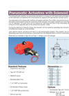 Series 79 with Solenoid – Datasheet