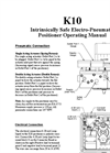 K-10 Positioners – Manual