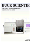 210 / 211VGP Atomic Absorption Spectrophotometer User Manual