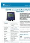 CX3000 - Conductivity Transmitters Brochure