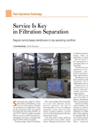 Service is key in Filtration Separation