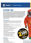 Zytron - Model 500 - Chemical Protection Suit Brochure