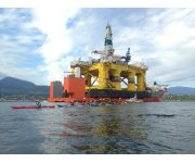 The federal government allows Shell to drill for oil in Arctic Ocean off Alaska
