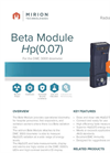 Model DMC 3000 - Beta Module Brochure