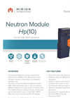 Model DMC 3000 - Neutron Module Brochure