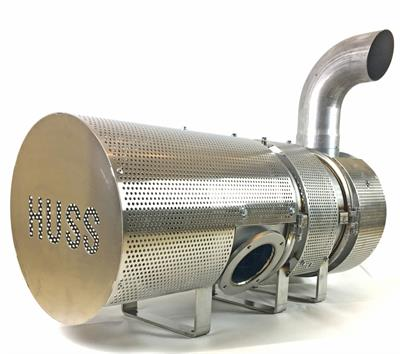 HUSS - Diesel Particulate Filters System with Diesel Burner