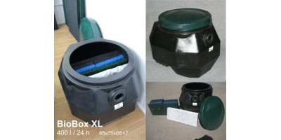 Biobox - Biological Treatment Unit for Grey Waters (Wash, Rinse etc)
