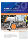 Handheld XRF Soil Screening