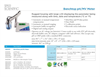 Model 860031 - Benchtop pH / MV Meter - Brochure