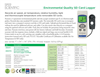 Model 850071 - Environmental Quality SD Card Logger - Datasheet