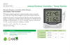 Model 800027 - Remote Relative Humidity (RH) Monitor and Digital Thermometer - Datasheet