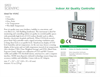 Sper Scientific - Model 800045 - Indoor Air Quality Controller - Datasheet