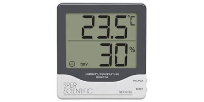Sper Scientific - Model 800016 - Digital Humidity Temperature Monitor