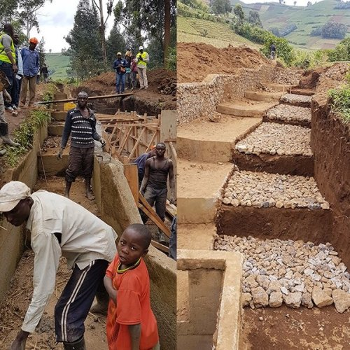 Consortium of NWP members improves watershed management in Virunga