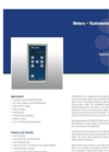 Model PMA2200 - Single Input Radiometer- Brochure