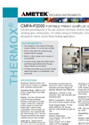 THERMOX - CMFA-P2000 - Portable Premix Gas/Flue Gas Analyzer Brochure