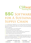 CSRware Sustainable Supply Chain (SSC)