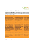 CSRware Energy & Sustainability Management Software Features