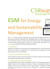 Energy & Sustainability Management Software