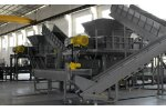 AWC Engineering - Model GXT61180 - Twin Shaft Shredder