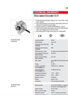 Hengstler Sine-wave Encoder S21 Data Sheet