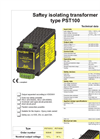 FEAS Transformer PST100 Data Sheet
