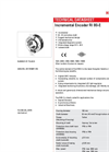 Hengstler - RI80-E Encoder Data Sheet