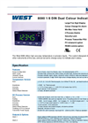 WEST 8080 1-8 DIN Dual Colour Indicator Datasheet