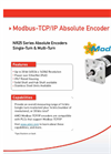 AMCI NR25 series Encoder - Modbus TCP IP Data Sheet