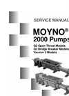 Moyno - 2000 - Pumps G3 - Single Auger Feed with Bridge Breaker – Manual