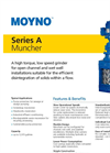 Series A Low Speed Grinder Bulletin
