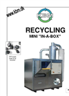 KBM MINI IN-A-BOX Recycling EPS EPP