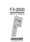Model FX-2000 - Moisture Meters- Brochure